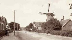 De Gunst in 1910 richting de Leusderweg